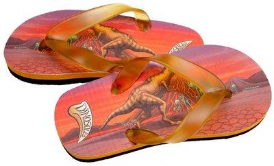 Dinosaurus T-rex slippers (rood)
