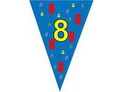 Vlaggenlijn 10 meter  (7 en 8 jaar)