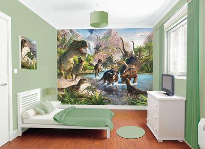 Walltastic Posterbehang dinosaurus l Dinoworld - Dinoworld