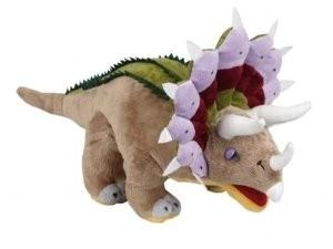 Triceratops knuffel (45x20x13cm)