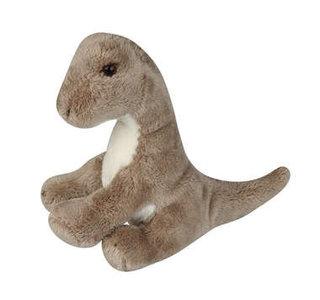 Brontosaurus knuffel baby (14x14x7cm)