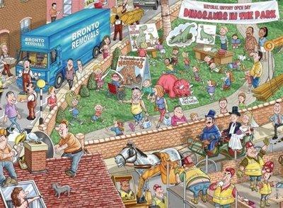1000 stukjes Puzzel