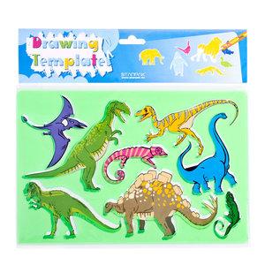 sjablonendinosaurus