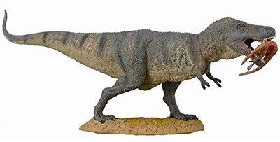 T-rex met prooi