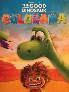 Kleurboek: The Good Dinosaur Colorama