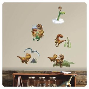 Muursticker The Good Dinosaur Roommates (32x)