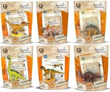 Totaalplaatje Jurassic Hunters zakken