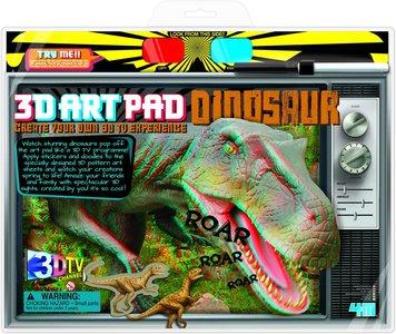 3D Art Pad dinosaurus (4M)