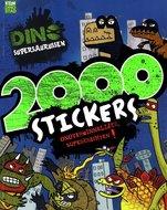 Sticker en Puzzelboek met 2000 stickers