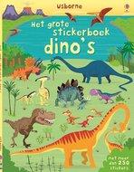 Het grote stickerboek dino's met 250 stickers