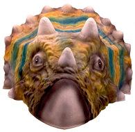 Masker Triceratops