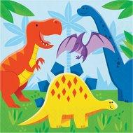 Servetten Dinosaur Friends